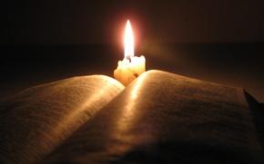 蜡烛, 圣经, 书
