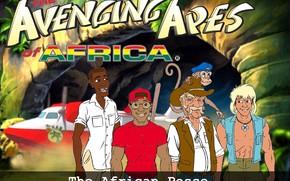 忍者神龟猴子, 非洲类人猿的复仇, 电影, 电影