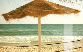 море, отдых, пляж, полоса, волны, пена, песок