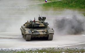 坦克, 地面