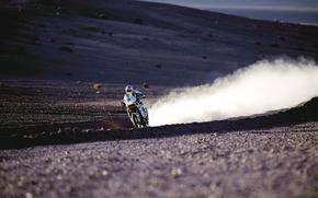 спорт, пыль, дорога, мото обои, пустыня, пустыни, ралли