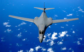B-1B, water, missile carrier