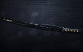 katana, miecz, samuraj