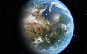 Mars, planet, Star, ocean, atmosphere, life