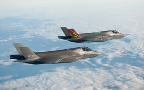 F-35,  истребитель,  полёт