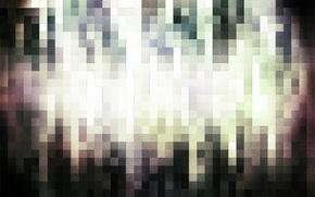 пиксели,  квадраты,  плитка,  свечение