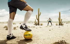 ball, desert, players