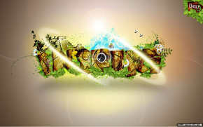 miscellanea, Photoshop, muzyka.trava, verde