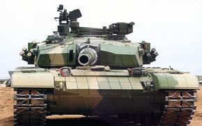 tank, armor, Desert