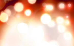 reflections, Blur, light, spot