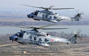 NH-90,  полёт,  вертолёт