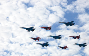 Су-27,  русские витязи,  Сухой,  Стрижи