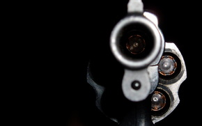 revolver, barrel, shot, macro