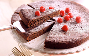 Sponge cake, raspberry, cake