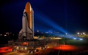 Shuttle, discovery, training