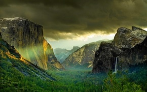 natura, Montagne, Rocks, valle, burrone