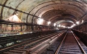 metro, Rails, tren
