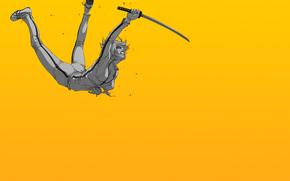 para matar, Proyecto de ley, Anime, Espada, Katana, nia, caer, herida, sangre