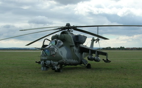 Mi-24, cabin, helicopter