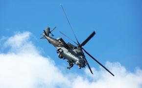 Ми-24,  вертолёт,  лопасти