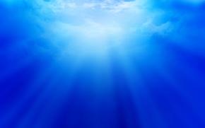 cielo, luce, splendere, raggi, calma