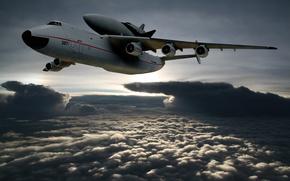 АН-225,  мрия,  самолёт,  макс,  буран
