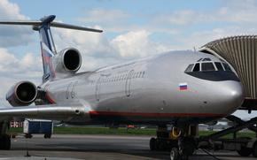 Tu-154, plane, Tupolev