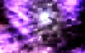 квадраты,  фиолетовый,  свет,  блики