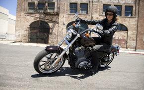 Harley-Davidson, Sportster, XL 883L Sportster 883 SuperLow, XL 883L Sportster 883 SuperLow 2011, мото, мотоциклы, moto, motorcycle, motorbike
