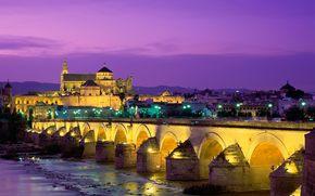 Espaa, Puente romano, Crdoba, catedral
