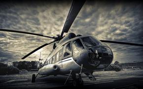 Ми-8,  Миль,  вертолёт,  лопасти
