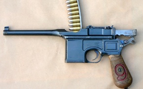 arma, tronchi, Pistola, bighellonare