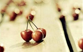 черешня,  фрукты,  блики