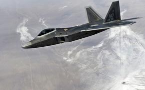 El F-22, Raptor, avin, vuelo