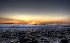 paesaggi, mare, oceano, profumatamente