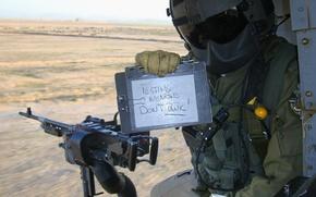 мужчина,  военный,  пулемет,  оружие
