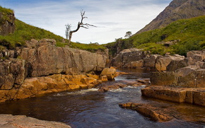fiume, Rocks, paesaggio, natura