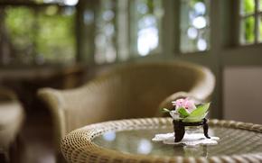 Стиль,  стол,  цветы