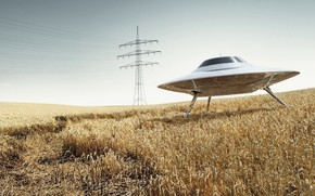 UFO, field, LEP, wire