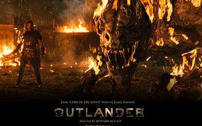 Los Vikingos, Outlander, pelcula, pelcula