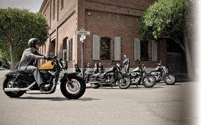 Harley-Davidson, Sportster, XL 1200 X Sportster Forty-Eight, Sportster XL 1200 X Forty-Eight 2012, Moto, motocicli, moto, motocicletta, motocicletta