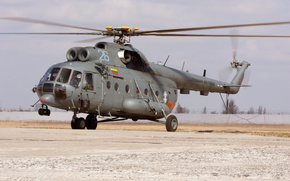 Ми-8,  Миль,  вертолёт,  лопасти,  Mi-8