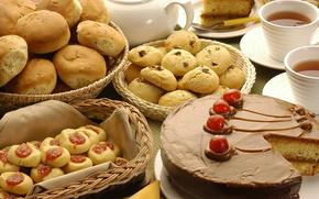 торт,  хлеб,  еда