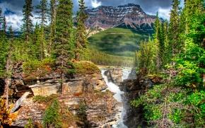 горы,  водопад,  пейзаж,  природа