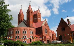 Minsk, Church, machinery, photo