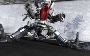 робот, оружие
