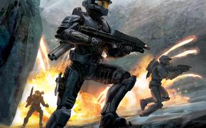 штурм, fire, armor, soldiers