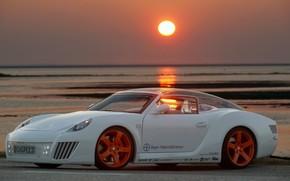 Auto, Sintonia, tramonto