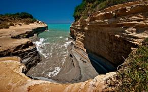 mare, estate, Rocks, natura