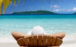 Island, vacation, lounge, tropics